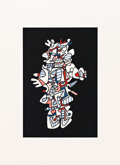 Jean Dubuffet, 'Epiphanor (Black)', 1973