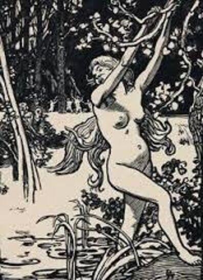 Auguste Lepère, 'Susanna et les vieillards'