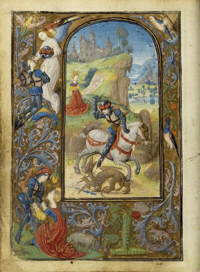 Lievan van Lathem, 'Saint George and the Dragon', 1471