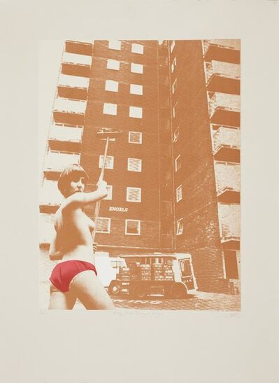 Sarah Hardacre, 'Family, Private Property and The State (brown)', 2012