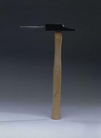 Joan Brossa, 'Llengua del martell ', 1988