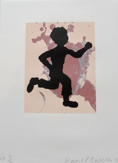Donald Baechler, 'Running Man', 2010