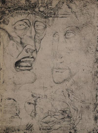 Ernst Fuchs, 'Passio', 1951
