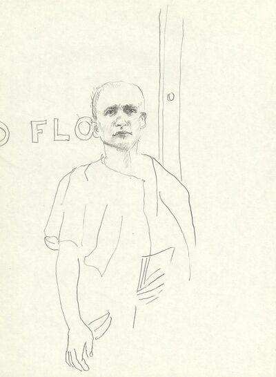 Peter Hauenschild, 'in front of', 1985