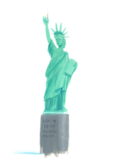 Oliver Jeffers, 'New Liberty', 2018