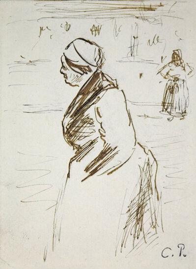 Camille Pissarro, 'Au Marché', 1883
