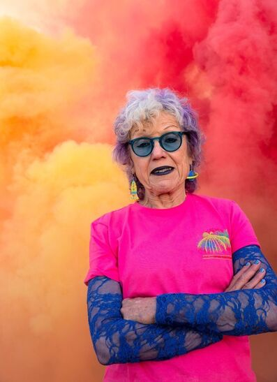 Judy Chicago, 'On Fire: Judy Chicago', 2020