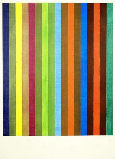 Juan José Cambre, 'Matriz de superposiciones', 2016