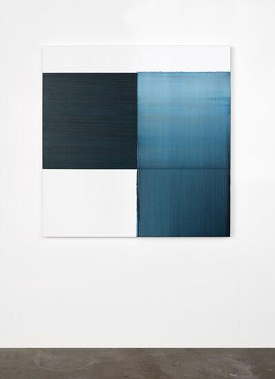 Callum Innes, 'Exposed Painting Paris Blue', 2020