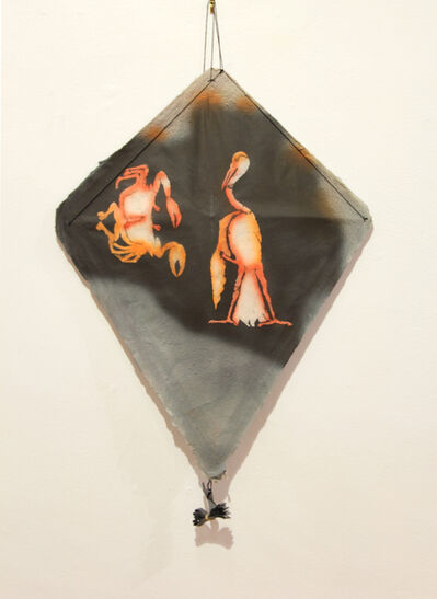 Francisco Toledo, ' Cangrejo y Flamenco Kite', 2002