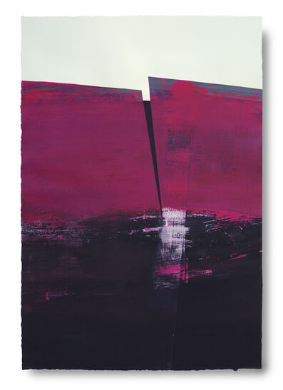Silvia Lerin, 'Magentas Sobre un Mar de Negro (Magenta on a Sea of Black)', 2010