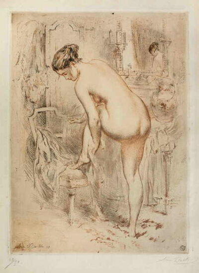 Armand Breton, 'La Toilette', 1907