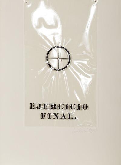 Luis Camnitzer, 'Ejercicio Final', 1970