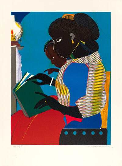 Romare Bearden, 'The Lamp, Artist Proof', 1984