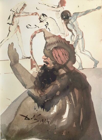 Salvador Dalí, 'Joseph and His Brothers in Egypt, 'Ioseph et Fratres in Egypto', Biblia Sacra', 1967