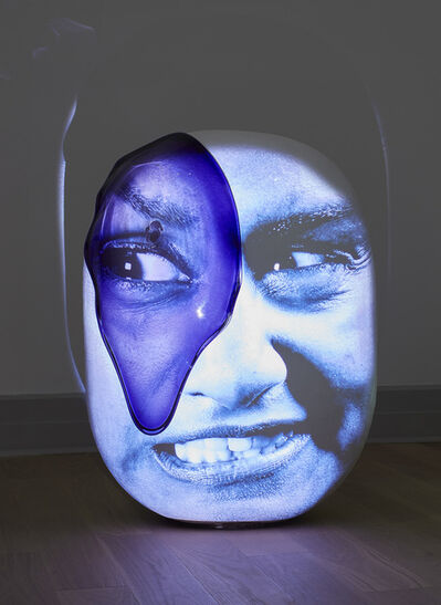 Tony Oursler, 'LosslessP', 2019