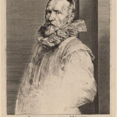 Anthony van Dyck, 'Jan de Wael', probably 1626/1641