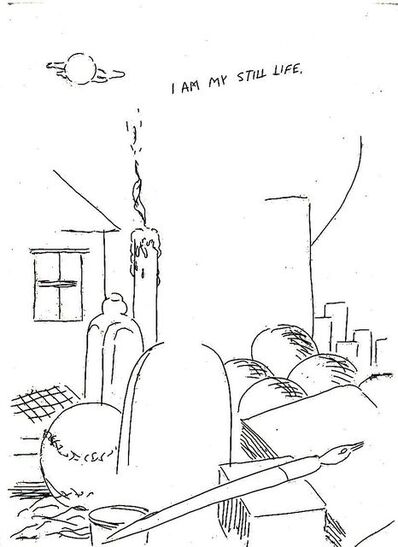 Raymond Pettibon, 'I am My...', 2001