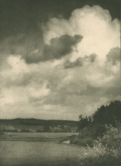 Alvin Langdon Coburn, 'The cloud, Bavaria', early 1900s