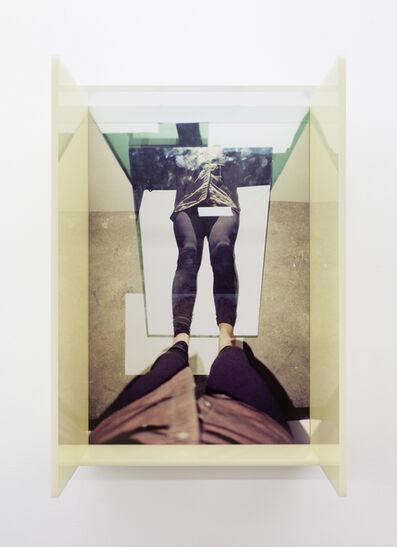 B. Ingrid Olson, 'Vertical Fold Tarried Rinded Rim', 2019