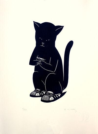 Alberto Cruz, 'Gato Con Niño', 2019