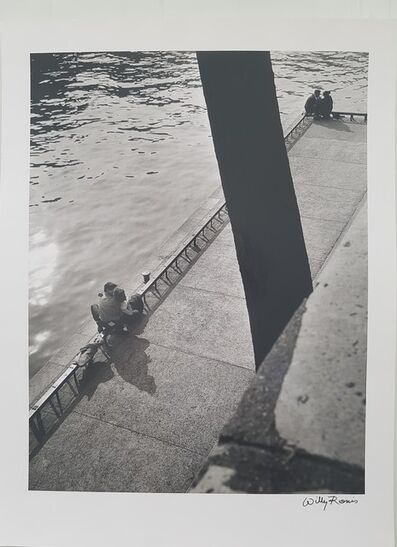 Willy Ronis, 'Quai Malaquais, Paris', 1953