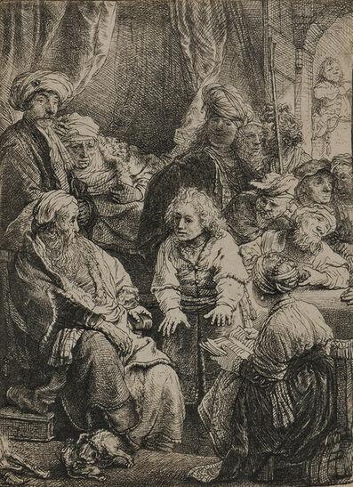 Rembrandt van Rijn, 'Joseph Telling his Dreams', 1638-18th century or later impression