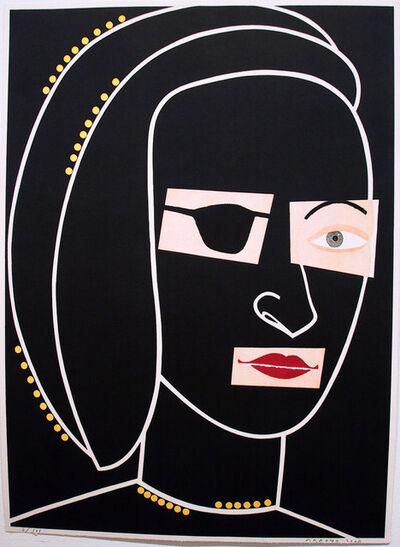 Eduardo Arroyo, 'ANA BOLENA Y LA PRINCESA DE ÉBOLI', 2004