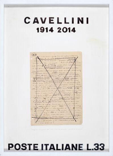 Guglielmo Achille Cavellini, 'Untitled'
