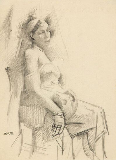 André Lhote, 'Seated Woman', c. 1920
