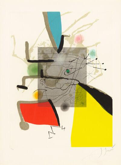 Joan Miró, 'Book of the Six Senses II', 1981