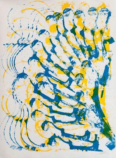 Arman, 'Accumulation de violons', 1985