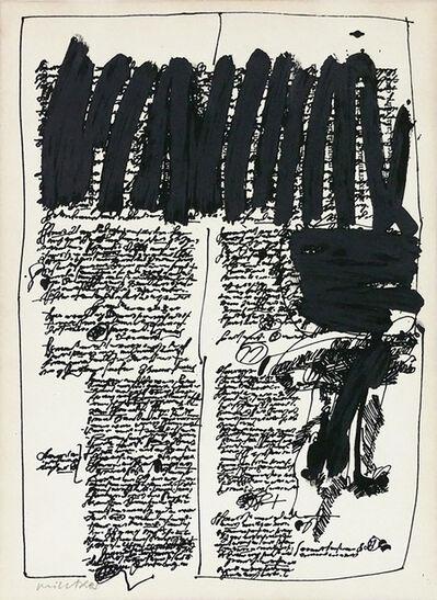 Manolo Millares, 'Descubrimiento', 1971
