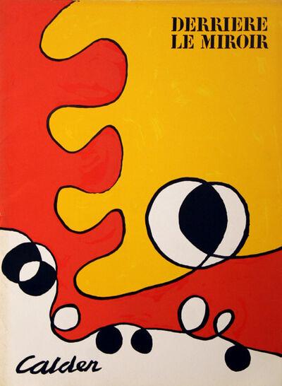 Alexander Calder, 'Abstract Cover from Derrière le Miroir', 1968