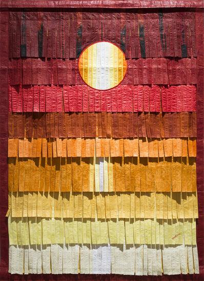Abdoulaye Konaté, 'Jaune or soleil', 2017