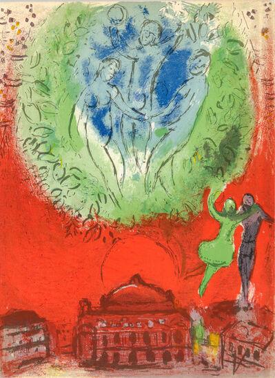 Marc Chagall, 'L'OPÉRA (The Opera)', 1954