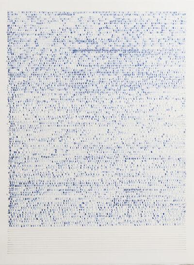 Sarah Irvin, 'X Stamp, No. 4', 2019