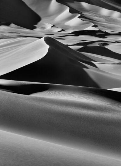 Sebastião Salgado, 'Sand dunes between Albrg and Tin Merzouga, Tandart. South of Djanet, Algeria.', 2009