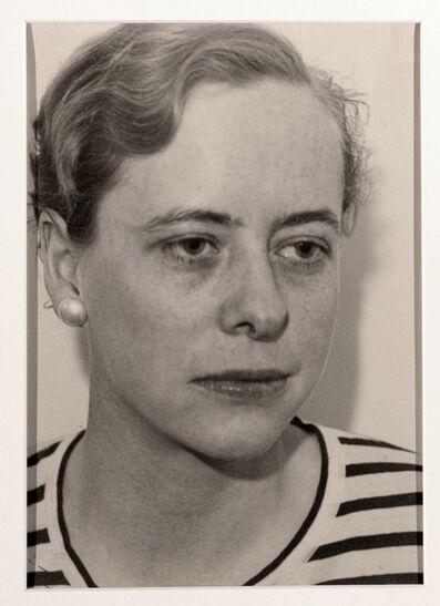 Ilse Bing, 'Close Portrait of a Woman', 1933