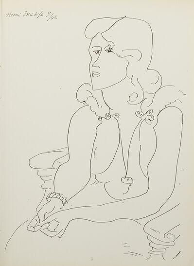 Henri Matisse, 'La Signe de Vie (three sheets)', 1944