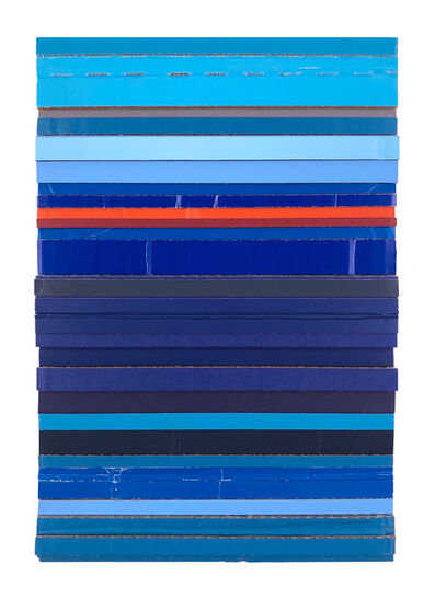 Ryan Sarah Murphy, 'Throughway - Blue (Site)', 2020