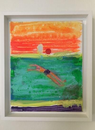 Katherine Bradford, 'Back Float', 2015