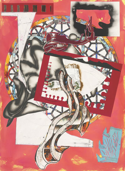 Frank Stella, 'The Waves : The Pacific', 1989