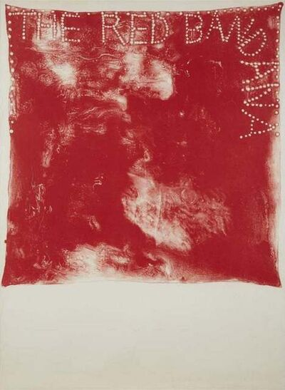 Jim Dine, 'Red Bandana', 1974