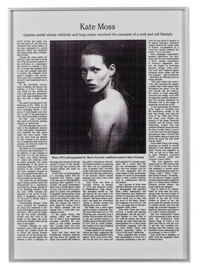 Adam McEwen, 'Untitled (Kate)', 2007