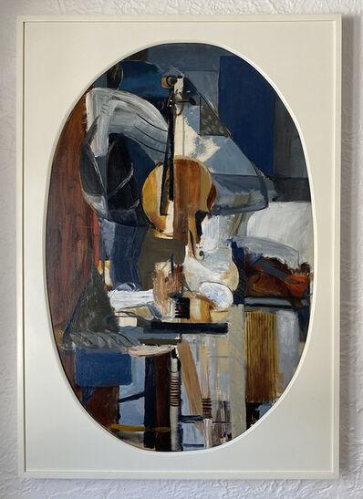 Perle Fine, 'Cubist Study for Le Violon', 1940