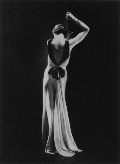 George Hoyningen-Huene, 'Toto Koopman in a dress by Augusta Bernard, Paris', 1933