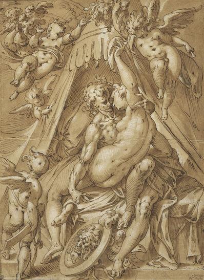 Abraham Bloemaert, 'Mars and Venus', 1592