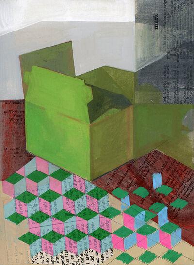 Jennifer Barton, 'Green Box', 2019
