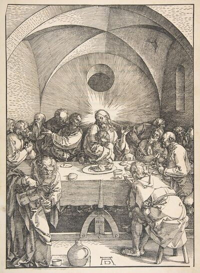 Albrecht Dürer, 'The Last Supper, from The Large Passion', 1471-1528